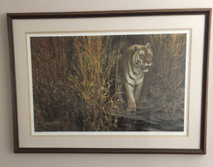 Robert Bateman - Tiger at Dawn