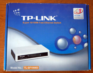 TP Link 8 port ethernet switch