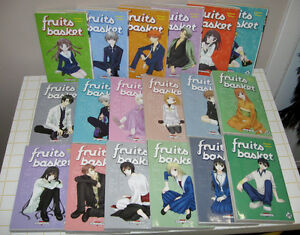Manga Fruits Basket volumes 1 à 17 + 19