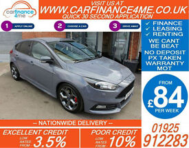 2015 FORD FOCUS 2.0 T ST3 GOOD / BAD CREDIT CAR FINANCE FROM 84 P/WK