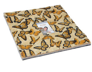 """Moda FABRIC Layer Cake ~ BEE INSPIRED ~ by Deb Strain 42 - 10"""" squares"""