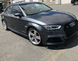 AUDI S3 PROGRESSIF 2017 LEASE TAKEOVER - FULL LOAD