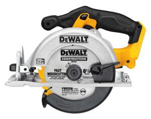 "New! Dewalt 20V Max 6½"" Cordless Circular Saw DCS393B Tool-Only"