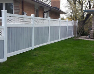 Top of the line PVC FENCES made in Ontario! Call now
