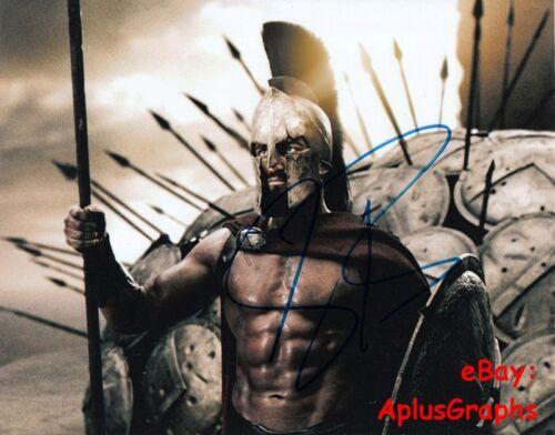 GERARD BUTLER.. 300's King Leonidas - SIGNED