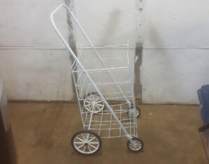 Metal Shopping Cart $15 obo