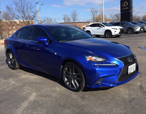 2014 Lexus IS 350 FSport Sedan Financing Available