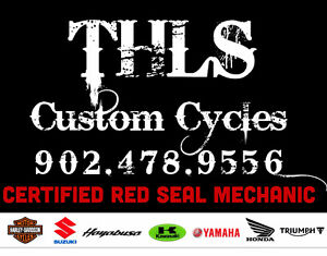 THLS CUSTOM CYCLES. .... RED SEAL