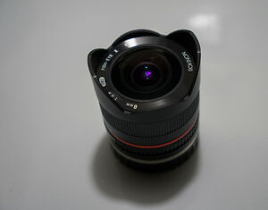 Rokinon 8mm F2.8 UMC Fisheye II Lens for Sony E (NEX, a6XXX)