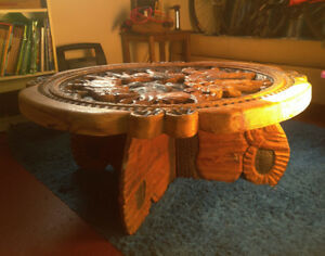 Coffee table from Tansania.
