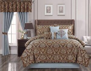 Crimini 4-Pc. Jacquard Comforter Set - Queen, New