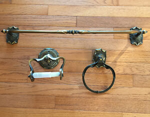 Bathroom accessories Amerock Carriage House Vintage Brass