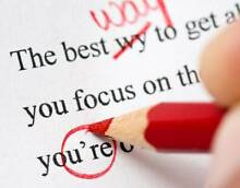 Proofreading Service - Resumes, CVs, Assignments & Applications Inglewood Stirling Area Preview