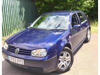 Volkswagen Golf 1.9TDI PD 100**Match Edition**1Private Owner From New,FSH!**