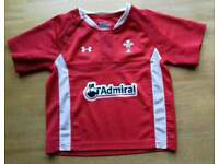 Baby Wales Admiral Rugby Shirt In new condition. 18 - 24 months