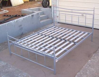 Tubular Queen Size Bed Frame