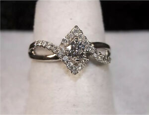 OUTSTANDING  Diamond Engagement Ring! ONLY $750