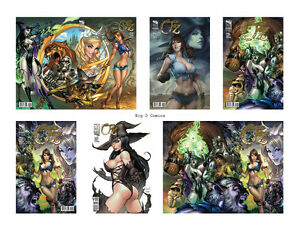 Grimm-Fairy-Tales-Oz-1-Complete-6-Comic-Set-with-Retailer-Incentive-Zenescope