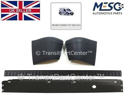 FORD TRANSIT CONNECT REAR BUMPER AND BUMPER COVER WITH END CAPS 2002-2013