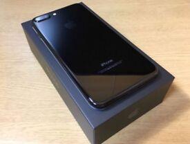 IPHONE 7 PLUS JET BLACK 32gb SIM FREE