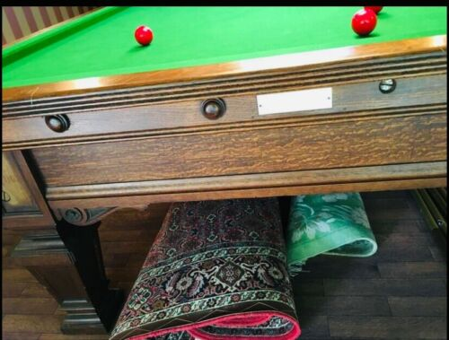 11ft Thurston Oak Snooker Table (Rare!) Inc Delivery and Installation