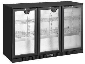 Brand New 330L 3 Door Black Bar Display Fridge Campbellfield Hume Area Preview