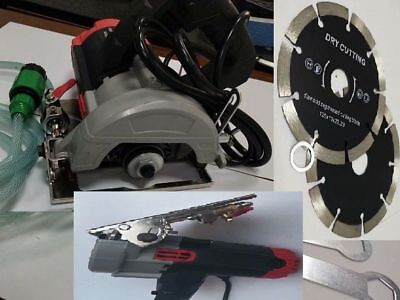 Wet Stone Cutter Tile Cutting Machine Tile Saw 15 Diamond Blade Concrete Granite