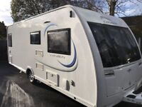 2015 Lunar Cosmos 544 - 4 Berth - Fixed Side Bed Rear Bathroom
