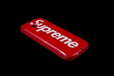SUPREME BLU BURNER PHONE RED FW19 ACCESSORY WHITE BOX LOGO CDG TRUSTED SELLER!
