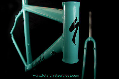 MTB MOUNTAIN BIKE FRAME POWDER COATING