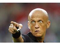 Referee needed