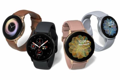 Samsung Galaxy Watch Active 2 SM-R825 44mm Stainless Steel Case Black 10/10