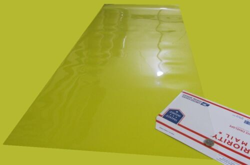 "Acetate Sheets, Clear .010"" (10 Mil) x 22"" x 51"""