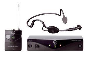 AKG Perception Wireless Sports Set Sr45 in great shape