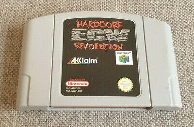 Nintendo 64 N64 Game ECW Hardcore Revolution