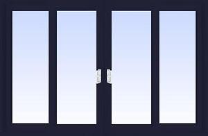 Patio Doors - Sunview Newcastle 4 Panel Vinyl Patio Door (quad) - We have a large selection of doors!!
