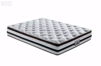 Brand New Pocket Spring with Latex Pillow Top Mattress