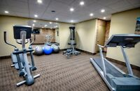 Gym, movie theater and dog run! 1 and 2 BDRM apts in London!