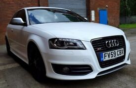 2009 AUDI S3 FACELIFT QUATTRO WITH FULL M.O.T FSH ONLY 41K MILES! TOP SPEC STUNNING IBIS WHITE