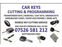 Car key cutting & programming