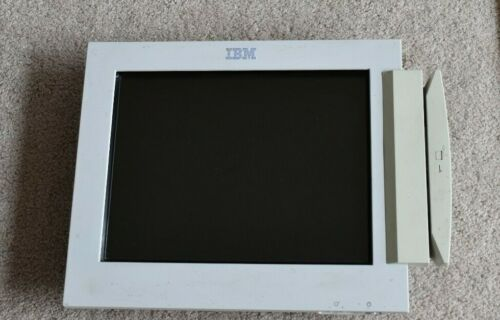 IBM 4820-2WB Screen Monitor 12""