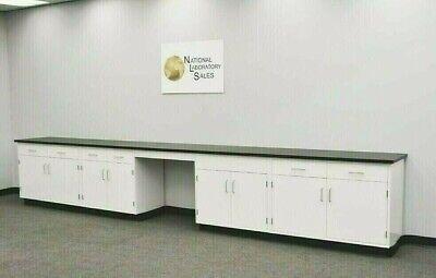 17 Laboratory Cabinet W Desk Countertops Science Furniture E2-149