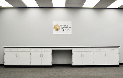 17 Fisher American Laboratory Cabinets W Desk Counter Tops - In Stock