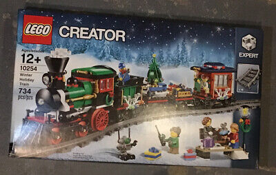 Lego Creator Winter Holiday Train (10254) Building Kit 734 Pcs Christmas