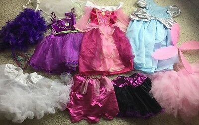 GIRLS Costume PLAY DISNEY PRINCESS DRESS UP LOT Play 4-6 Mixed