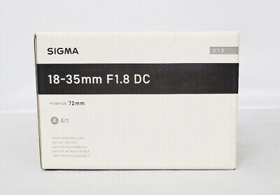 Sigma Art 18-35mm F 1.8 DC HSM Lens For Nikon