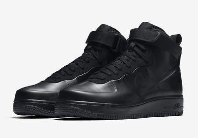 7414913e9d4c3e Mens Nike AIR FORCE 1 FOAMPOSITE CUP Shoes -Black -AH6771 001 one -Sz 11.5  -New