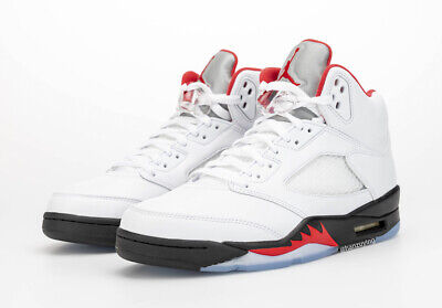 2020 Nike Air Jordan Retro 5 'Fire Red' Size 8-14 DA1911-102