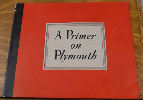 1940 Brochure/PLYMOUTH AUTOMOBILES/Roadking/Trucks/Ambulance