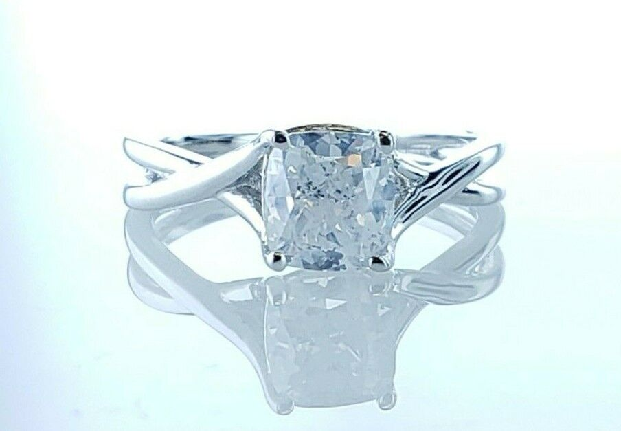 1.59 Carat GIA Certified  Solitaire Diamond Engagement Ring Fancy Color Diamond